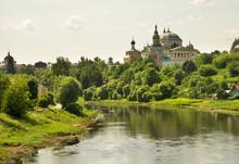 Monastery Of Sts. Boris And Gleb (Novotorzhsky Borisoglebsky Monastery) In Torzhok. Tver Region. Russia