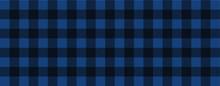 Blue Lumberjack Style. Vector ...