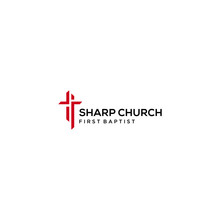 Modern Church Religion Logo Si...