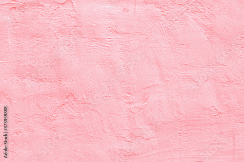 Fotomural Pale pink concrete wall.