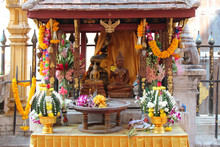 Buddhist Temple (Wat PhraThat Lampang Luang) In Lampang (thailand)