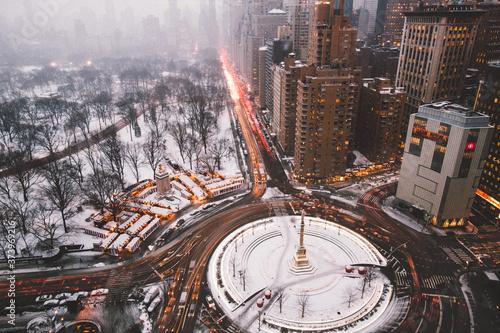Fotografia time lapse of city