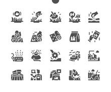 Lawn Well-crafted Pixel Perfect Vector Solid Icons 30 2x Grid For Web Graphics And Apps. Simple Minimal Pictogram