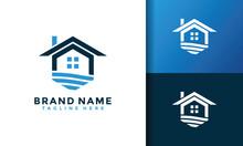 Real Estate Water Logo