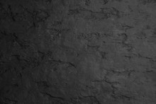 Blank Black Stone Wall Texture...