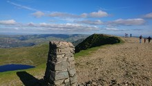 Helvellyn Trig Point August 2020