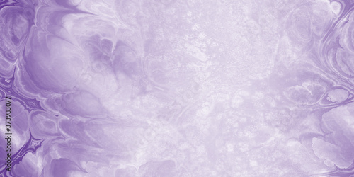 Fototapeta purple and white marbled and grunge wallpaper with copy space