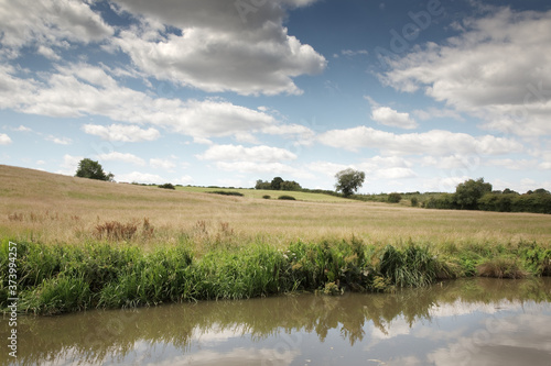 Fototapeta waterways channels of england