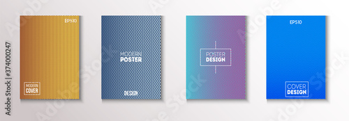 Fotomural Folded Minimal Cover Vector Set