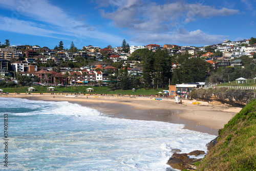 Bronte is a beachside suburb of Sydney, in the state of New South Wales, Australia Canvas Print