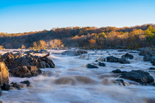Late Afternoon At Great Falls ...