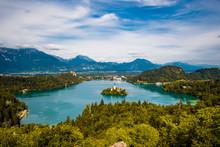 Panoramic View Of Lake Bled, G...
