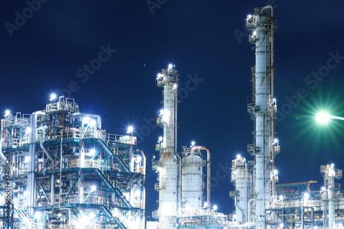 Fotografie, Obraz 茨城県 鹿島工場地帯 夜景