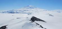 Mount Erebus From Castle Rock Antarctica Near McMurdo Station
