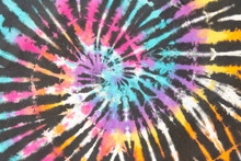 Rainbow Spiral Tie Dye Colorfu...