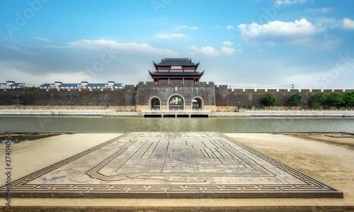 Fotografia Pingmen Water Gate in Suzhou - Jiangsu, China