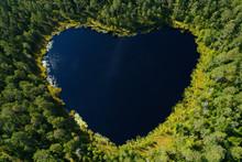 Heart-shaped Tarn