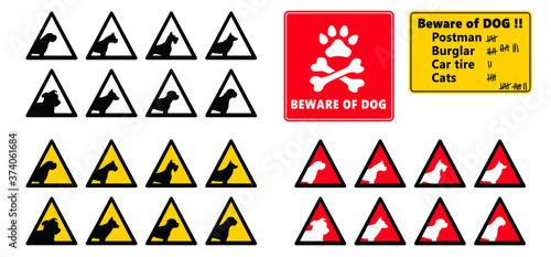 Fototapeta Danger, warning