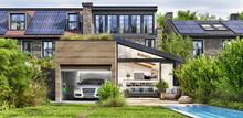 Modern House With Rooftop Sola...