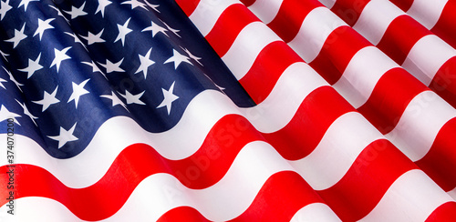 star and striped American flag Fototapet