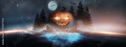 Photo Abstract fantasy halloween background