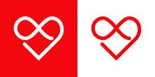 Símbolo De Amor Eterno. Logot...
