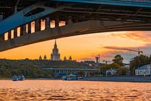 Bridge Over The River In The S...