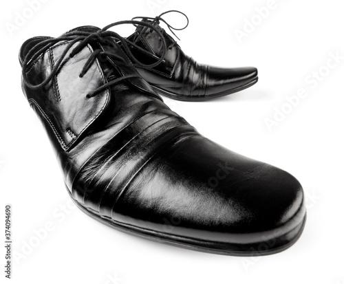 Leinwand Poster Men shoes