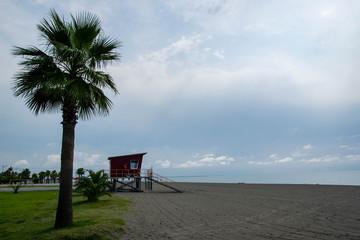Plaża, Morze Czarne, Gruzja