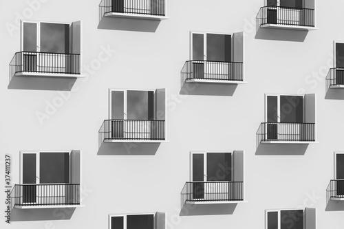 Fotomural Urban Life Concept