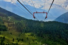Italy-view From The Cableway P...