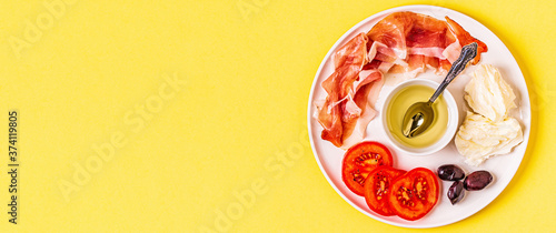 Tela Ketogenic Diet Food, healthy meal, top view.