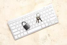 Computer Keyboard With Keys An...