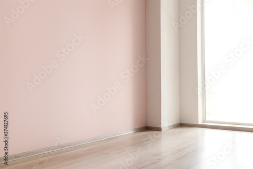 Fototapeta Empty interior of modern room obraz na płótnie