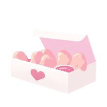 Pink Chicken Nuggets