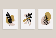Set Of Posters With Elements O...