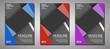 Modern Minimalist Brochure Cover Folder Book Template. For Business, Marketing, Advertising.