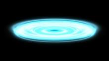 Blue Waves Radiation Technology Digital Wave Background Concept 5G 4k
