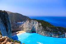 Shipwreck Beach Greece Zakynthos