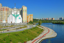 St. Nicholas Church And Moscow...