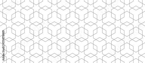 Fototapeta Vector seamless geometric pattern