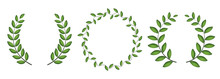 Laurel Wreath Silhouette Colle...
