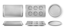 Trays For Baking Muffins, Pizz...