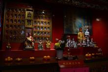 Idol Of Buddha At Kuala Lumpur Malaysia