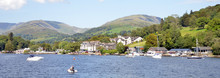 Cruise From Windermere To Ambleside In The Lake District, Cumbria, England, UK