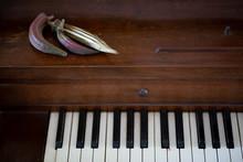 Okra Pods On Piano