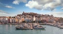 Ibiza Port And  Ship