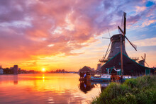 Netherlands Rural Scene - - Wi...