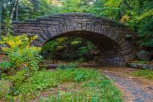 Stone Bridge At Bubble Pond, Acadia National Park, Maine