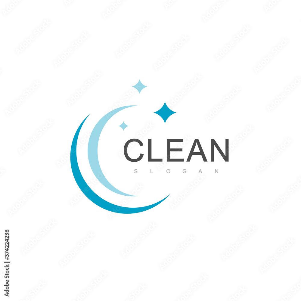 Fototapeta Clean Logo Design Template